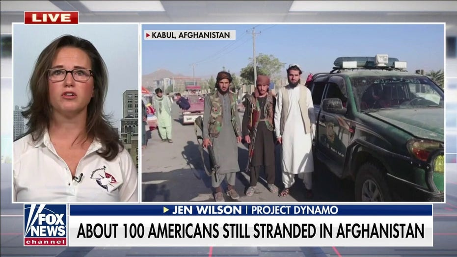 US citizen stranded in Afghanistan tearfully describes efforts to leave, says State Dept not helping