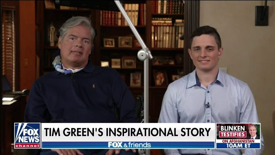 Former NFL player Tim Green opens up to Brian Kilmeade about living with ALS
