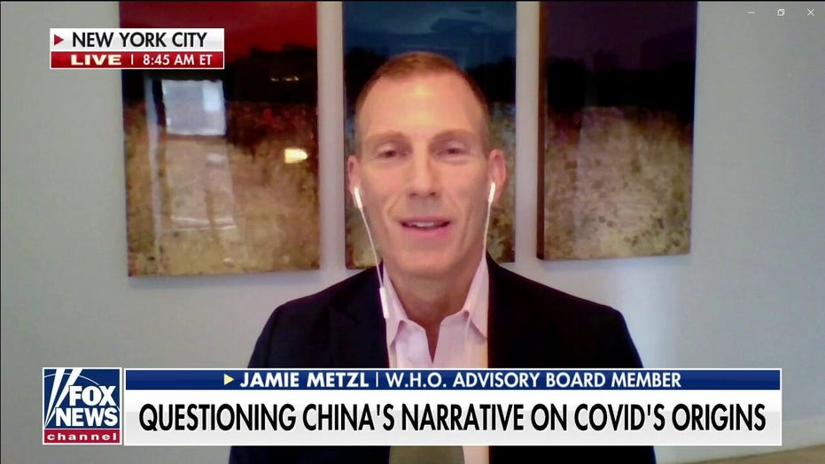 WHO advisory board member: I was called a 'conspiracy theorist' and 'right wing nut' for posing Wuhan lab leak theory