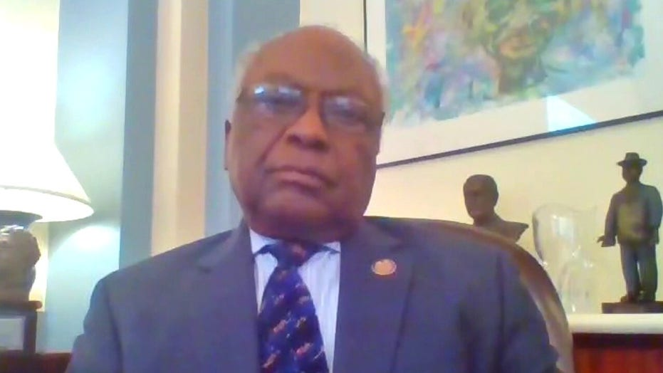 Rep. James Clyburn on debate over statues in US, future of police reform on Capitol Hill