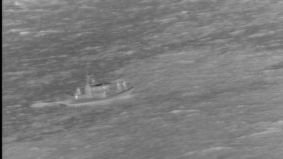Coast Guard rescue of downed pilots off Hawaii coast captured in harrowing video