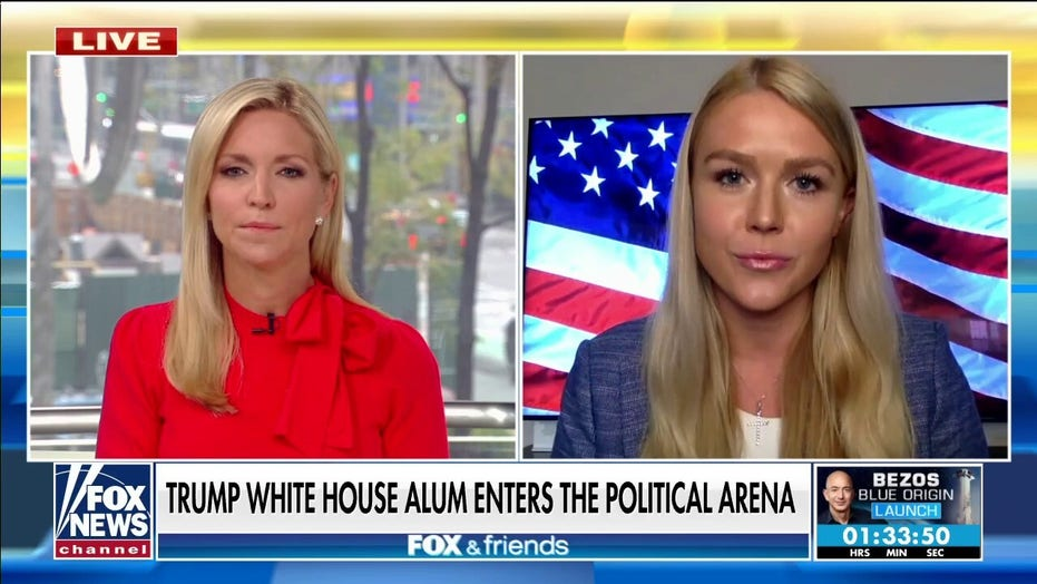 Former Trump aide bidding to unseat Dem says young people 'brainwashed' by Big Tech, need to step up