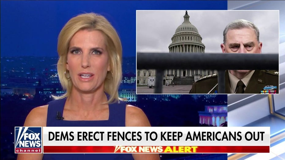 Ingraham: 'Fencing off the Capitol and Milley'; Biden governs on 'need-to-know basis', lied about transparency