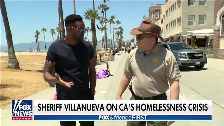 Venice Beach, California plagued by homeless encampment