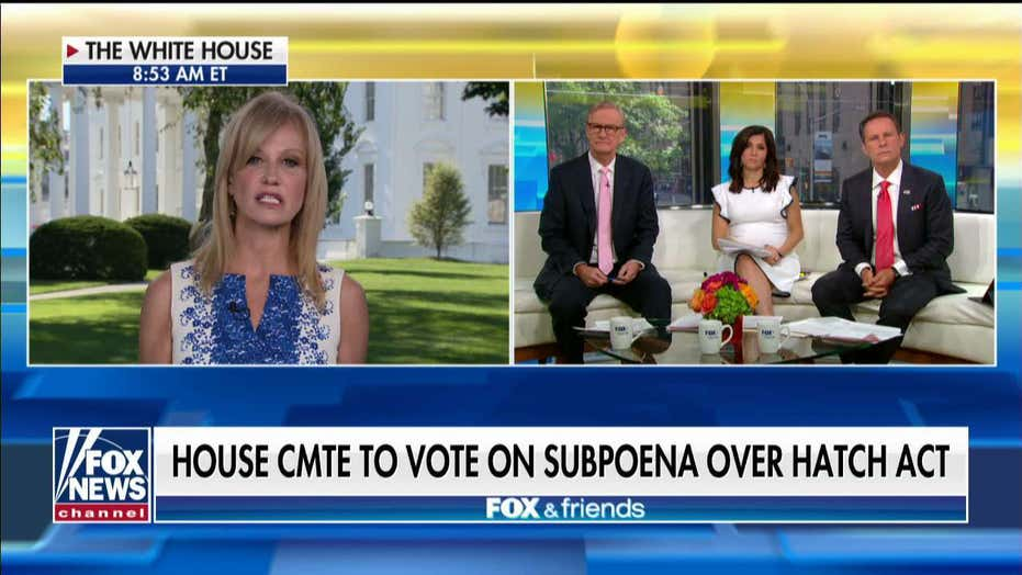 Kellyanne Conway on Hatch Act violations: It is an attempt to 'silence' me