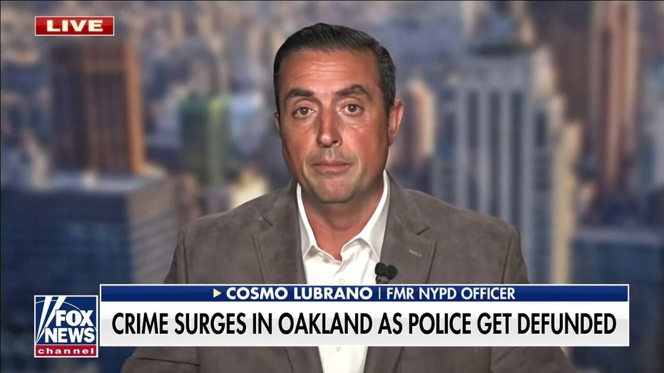 Ex-NYPD officer on NYC, Oakland crime surge: 'My 7-year-old could have predicted this'