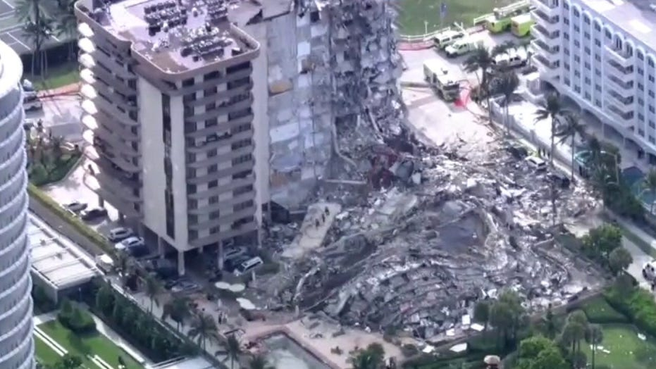 Florida first responder radio depicts chilling moments as rescuers rushed to Surfside building collapse