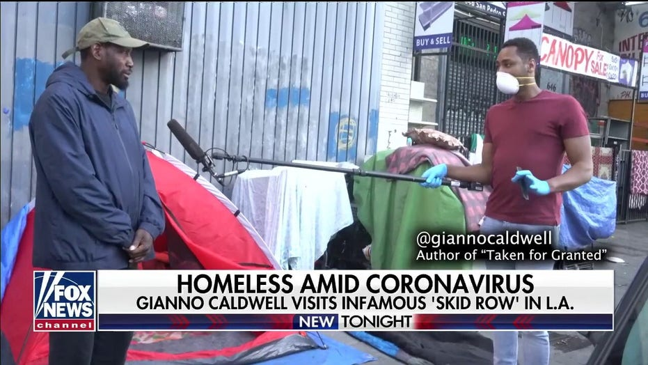 Homeless population in Los Angeles struggling to stay informed about COVID-19