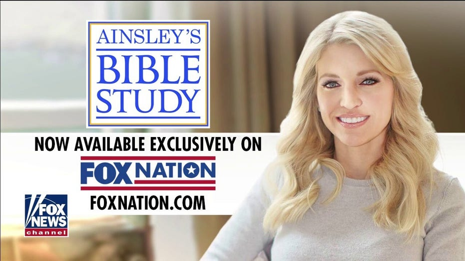 """New episode of """"Ainsley's Bible Study"""" on Fox Nation"""