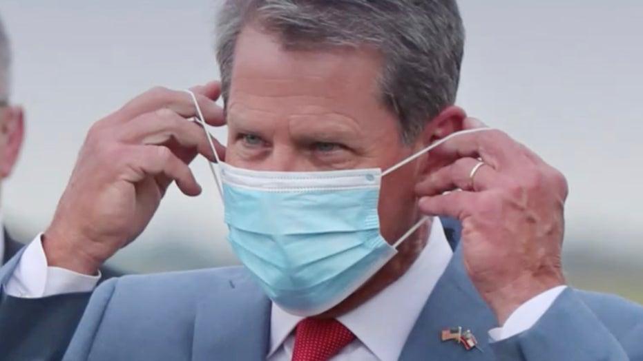 Georgia Governor Brian Kemp rescinds local mask mandates