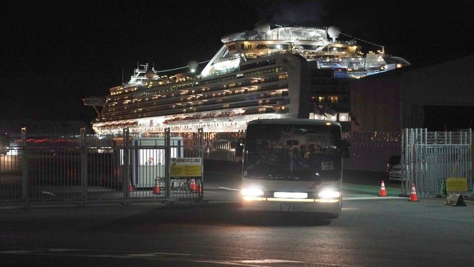 Passengers disembark coronavirus cruise ship in Japan but blocked from immediate return to US