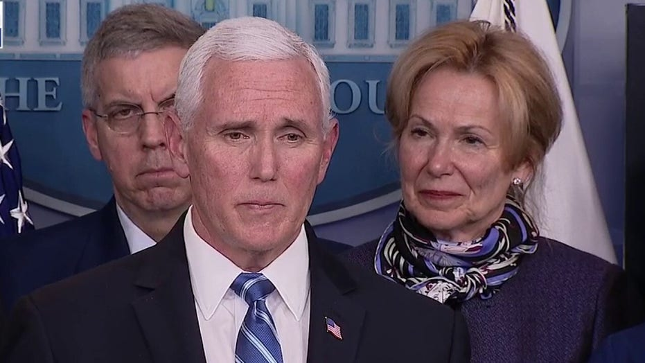 Pence says major health insurance companies will waive copays for coronavirus tests, cover cost of treatment