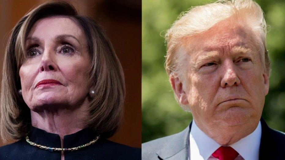 Pelosi teases using 25th Amendment after Trump COVID-19 diagnosis
