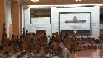 Thousands of National Guard troops descend on DC ahead of inauguration