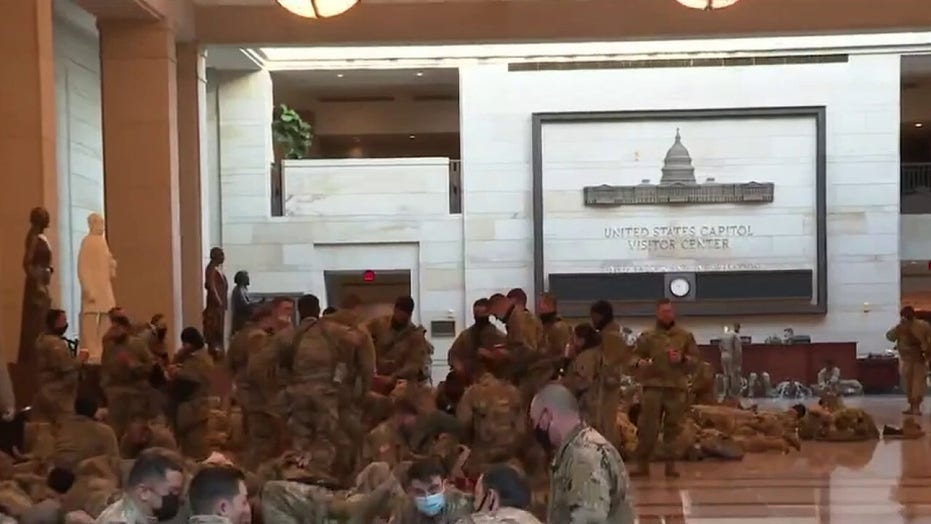 Virginia National Guard accepting donations, care packages for troops in Washington, 直流电