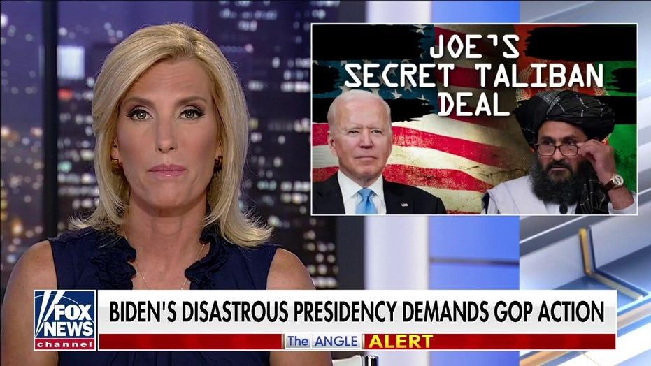 Ingraham: 'Joe's secret Taliban deal' must be investigated