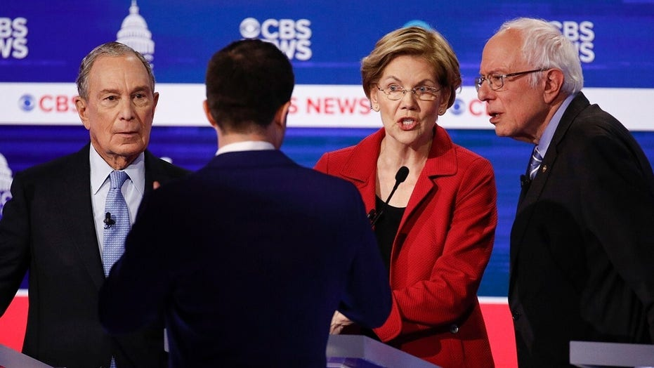 Democrat candidates target Sanders, Bloomberg in contentious South Carolina debate