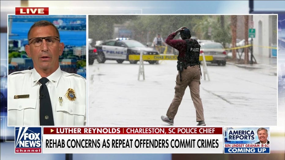 Charleston, SC police chief 'fed up' with violent, repeat offenders