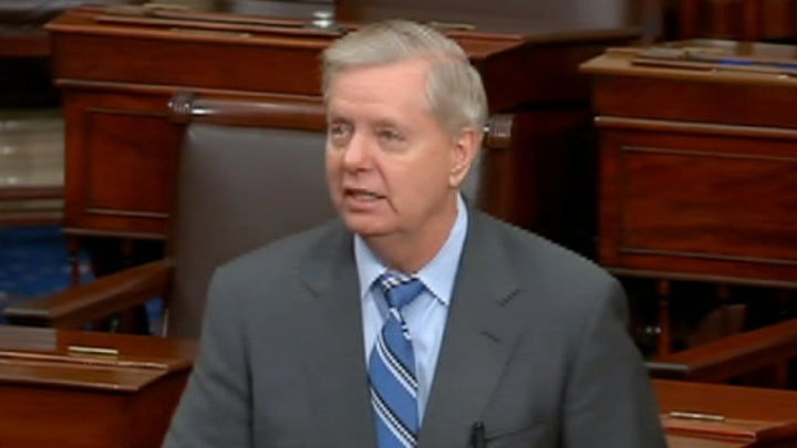 Senator Graham: We may be at the one yard line, but apparently there are 20 people on defense