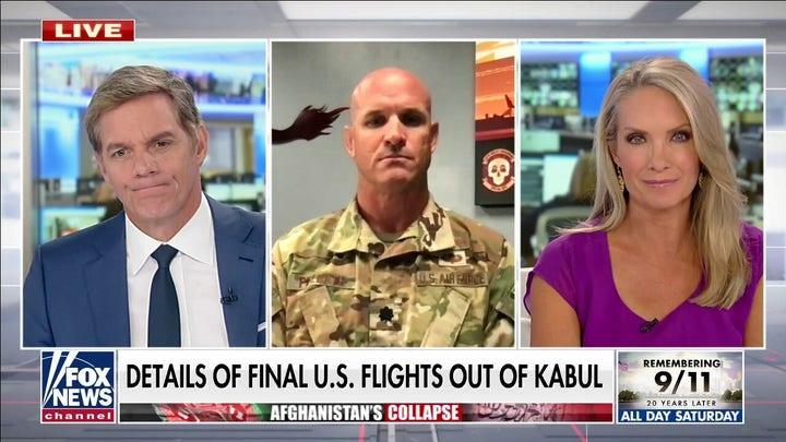 Commander describes final U.S. flight out of Kabul