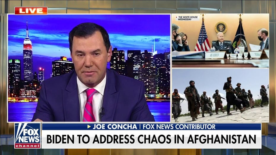 Biden will ditch D.C. yet again as Afghanistan crisis rages, en route Delaware Friday afternoon
