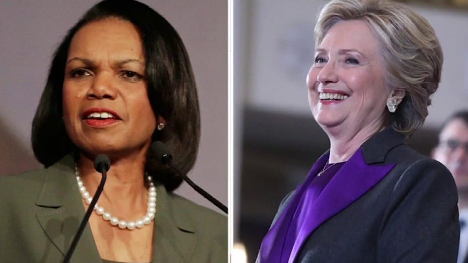 Hillary Clinton, Condoleezza Rice break with Biden on Afghan troop withdrawal: report