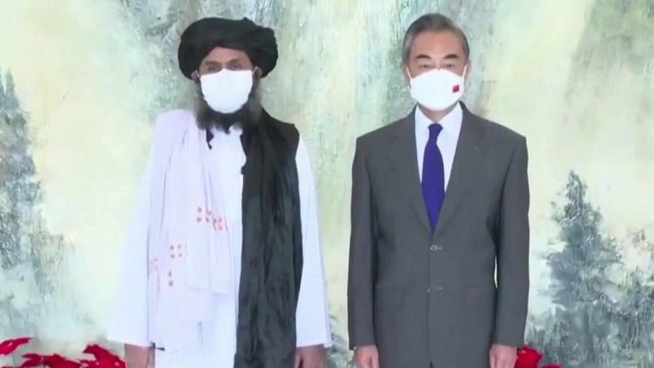 China and Taliban officials meet as US exits Afghanistan