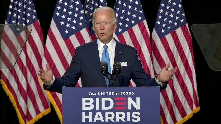 Biden calls out Trump's attacks against Kamala Harris