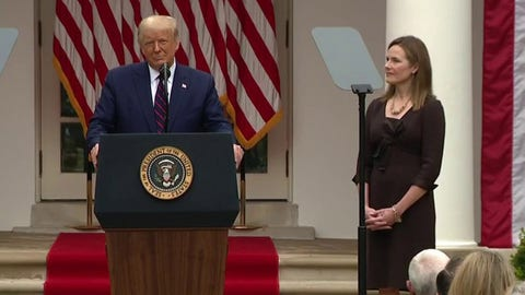 Trump selects Amy Coney Barrett as Supreme Court nominee