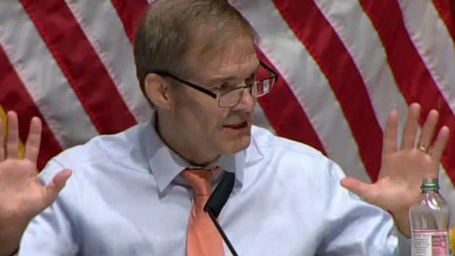 Rep. Jim Jordan says riots are not peaceful protests