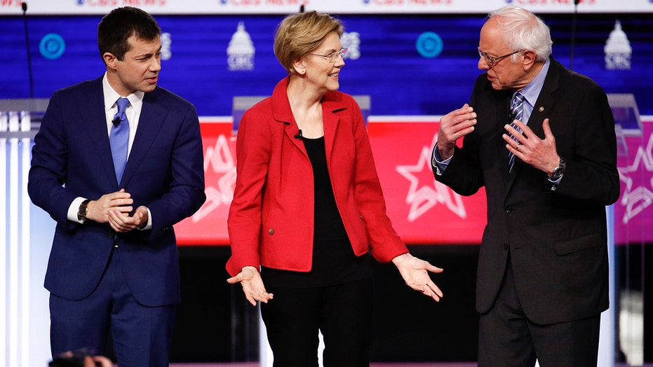 2020 rivals hammer Bernie Sanders over far left stances