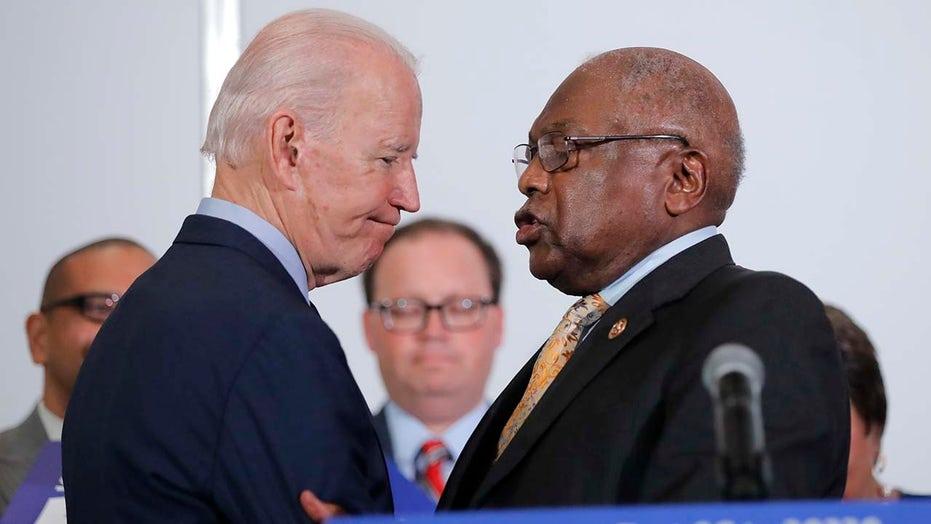 Biden nabs crucial endorsement from South Carolina Rep. Clyburn