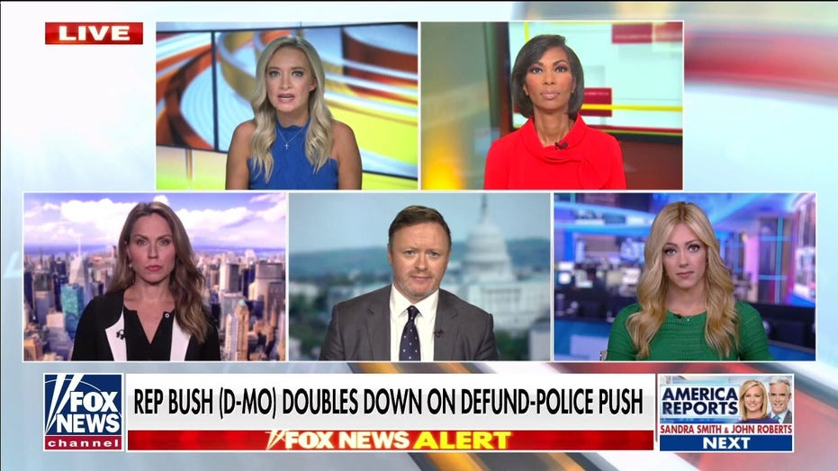 Kayleigh McEnany: Slain Chicago cop 'did a heck of a lot more' for America than Cori Bush