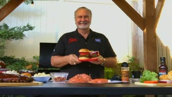 Myron Mixon's The Triple B: Bacon Butter Burger