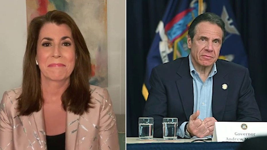 Tammy Bruce sounds off on Cuomo deflecting blame for NY nursing home deaths