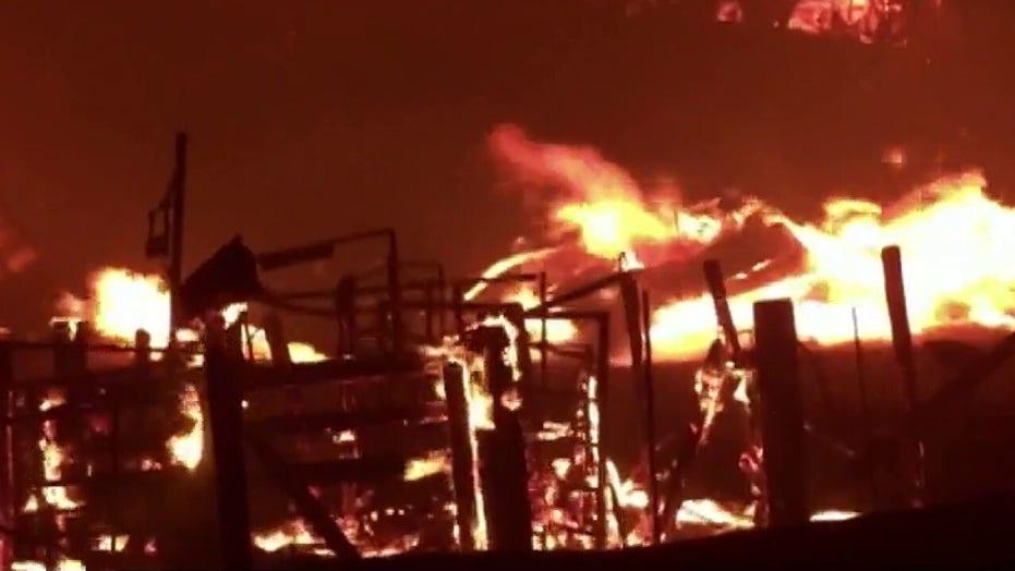 Wildfires sparked by thousands of lightning strikes devastate California neighborhoods