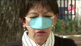 Nose-only COVID-19 masks invented by Mexican researchers for use at restaurants