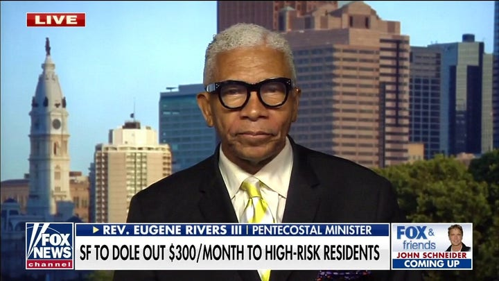 San Francisco paying people not to shoot others a 'gimmick' that won't work: Rev. Eugene Rivers III
