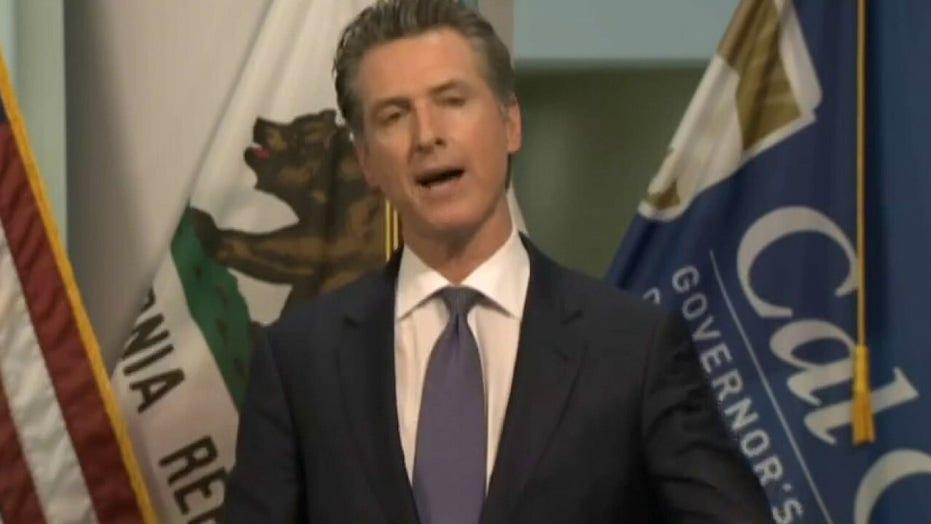 Newsom's coronavirus missteps, hypocrisy prompting effort to remove him in California: Recall leader