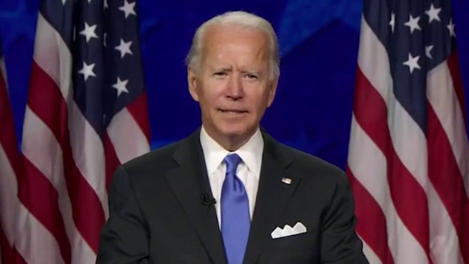 Joe Biden accepts Democratic nomination: 'Ally of the light'