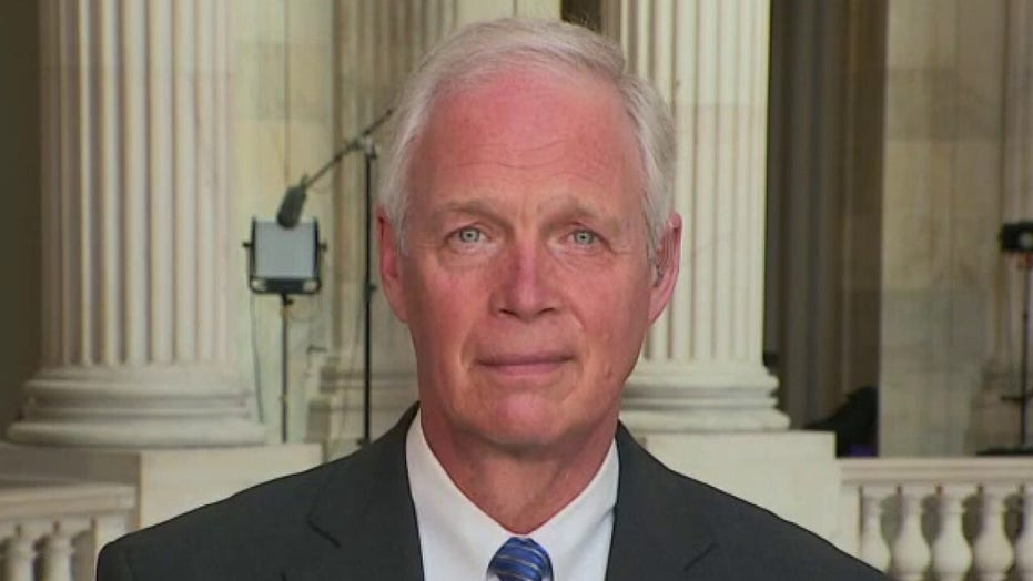 Ron Johnson rips Biden infrastructure spending: 'Completely irresponsible'