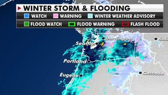 Heavy rain and snow forecast for the Northwest sparks flash flood watches