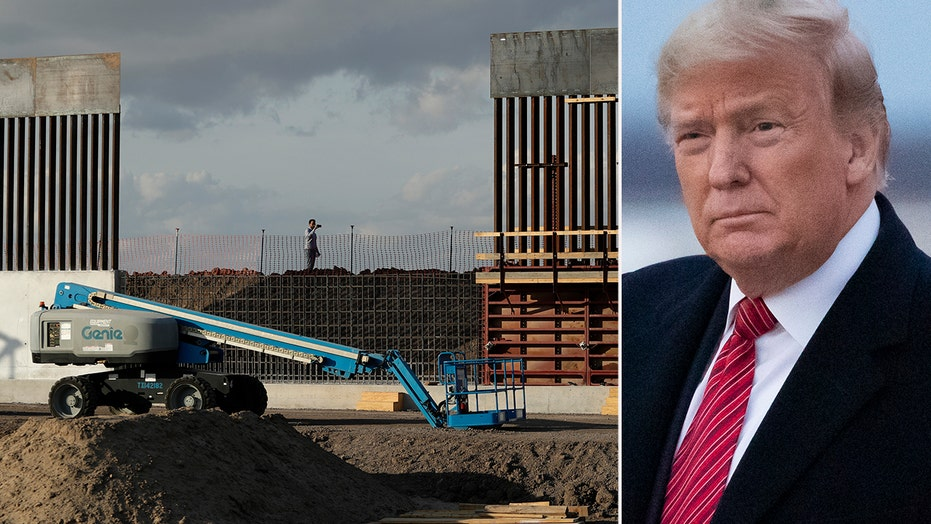 Trump fast-tracking US-Mexico border wall in four states
