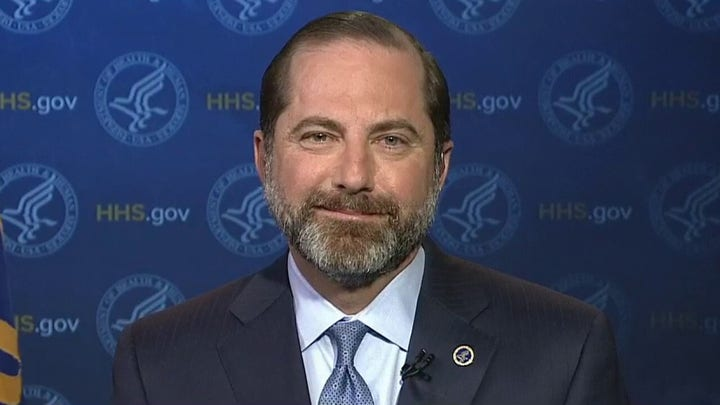 HHS Secretary Azar: CDC shipping over 1 million testing capabilities to hospitals, labs