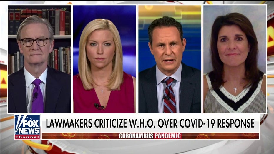 Fmr. Ambassador Nikki Haley reacts to criticism of W.H.O over COVID-19 response
