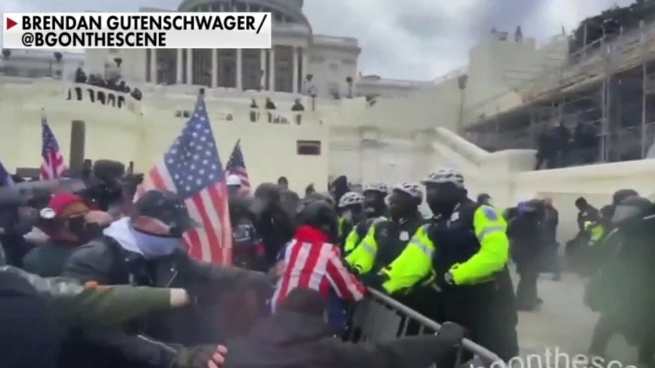 Republicans blame Trump after his supporters storm Capitol: 'Enough is enough'