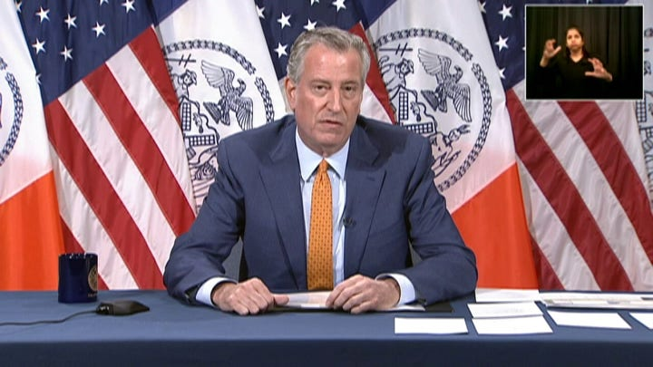 NYC Mayor De Blasio on police reform amid protests after the death of George Floyd
