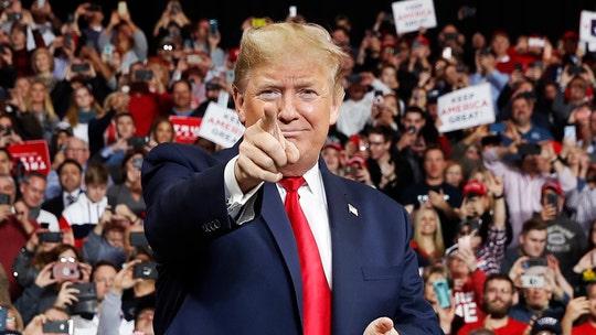 Trump slams Bloomberg at Phoenix rally, pushing MAGA message during Dem debate