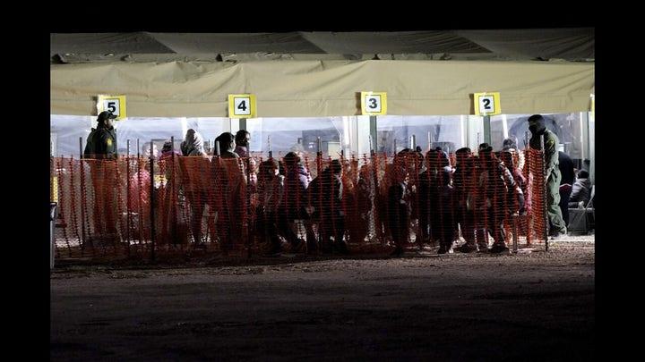 Southern border encounters remain at 20-year high