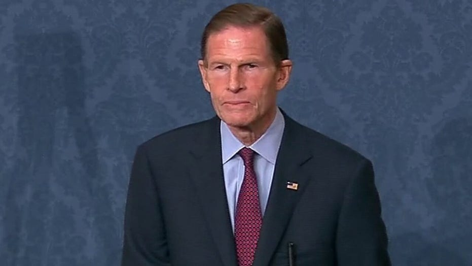 Blumenthal in Senate floor speech warns of 'consequences' if Barrett confirmed